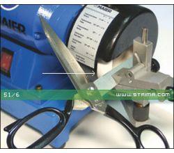 MAIER brúsny kotúč pre nožnice, určené pre stroj 68/1 82-100 [R], biely